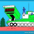 Играть Раскрась танк онлайн