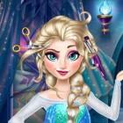 Играть Прическа Эльзы онлайн