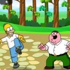 Играть Симпсон против Гриффина: Уличный бой онлайн