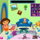 Играть Уборка в комнате Даши онлайн