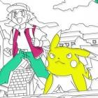 Играть Раскраски Покемон онлайн