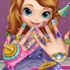 Играть София Прекрасная маникюр онлайн