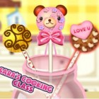 Играть Кухня Сары печенье на палочке онлайн