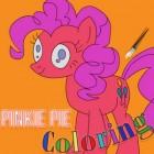 Играть Раскраска Пинки Пай онлайн